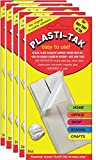 Plasti-Tak The Original Re-usable Adhesive Putty- ''The Duck Tape of Tak'' Never Dries Out, Hundres of Uses! (5 Pack)
