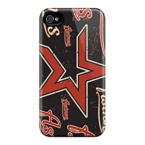 Durable Houston Astros Back Cases/covers For Iphone 6