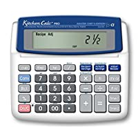 Calculated Industries KitchenCalc 8305 PRO Master Chef Edition Calculadora de conversión de recetas con temporizador digital doble