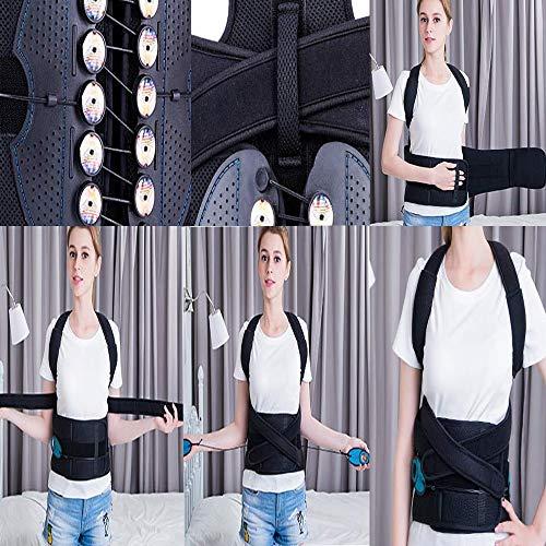 BLWX - Advanced Version of Anti-Humpback Correction Belt for Men and Women Spine Correction Belt Student Correction Belt Adult Humpback Correction Belt (Size : S) by BLWX-Humpback correction belt (Image #2)
