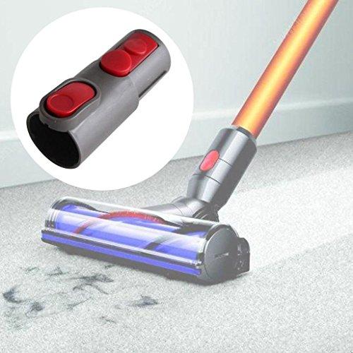 Vacuum Cleaner Converter, Elevin(TM) For Dyson Vacuum Cleaner Accessories Adapter V6 Converted to V7 V8 V10 Interface (Gray)