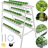 4 Layers 72 Plant Sites Hydroponic Site Grow Kit 8 Pipes Hydroponic Growing System  The hydroponic site grow kit is ideal water culture garden system, is designed for fast, maximum-convenience vegetable gardening. This hydroponic site grow kit has a ...