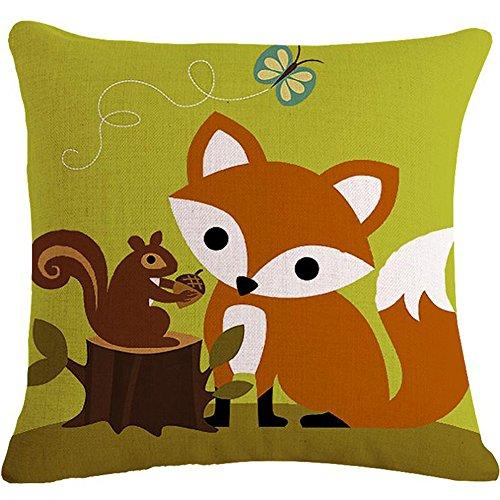 Painting Squirrel animals Cushion Decorative