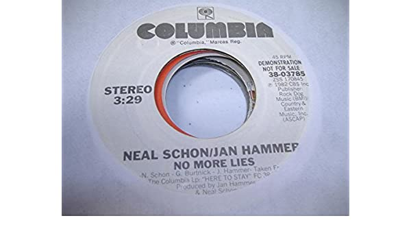 No more Lies/DonŽt stay away : Neal Schon & Jan Hammer: Amazon.es: Música