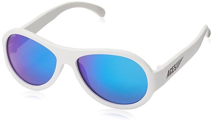 Aces by Babiators Kinder Sonnenbrille Aviator black OPS black blue lenses 7-14 Jahre EPKr7QS6