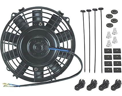 amazon com american volt 6 inch small slim electric fan 12v rh amazon com