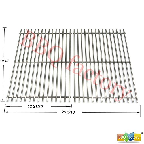 Best Prices! bbq factory® Replacement (Aftermarket) Stainless Steel Rod Cooking Grid/Cooking Grates...
