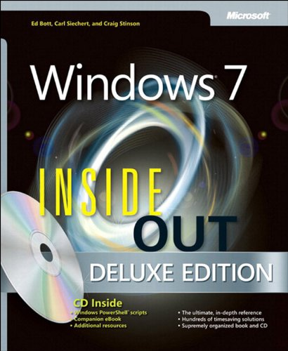 Windows 7 Inside Out, Deluxe Edition Pdf