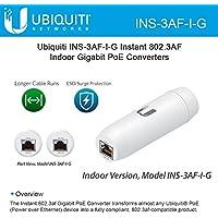 Ubiquiti INS-3AF-I-G Instant 802.3af Indoor Gigabit Transforms PoE Converters