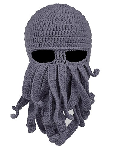 NYKKOLA Octopus Hat, B1 Grey, One Size (Dr Octopus Costume)