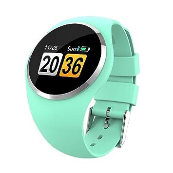 Wolfsay Brazalete Deportivo Q1 Pantalla a Color Reloj Inteligente Pulsera Presión Arterial Monitor de Ritmo cardíaco