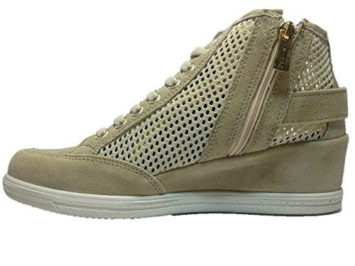 IGI&Co Sneaker, Damen Sneaker Beige Beige 40 EU
