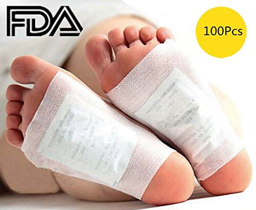 Foot Pads - 100 Adhesive Sheets and 100 Foot Pads