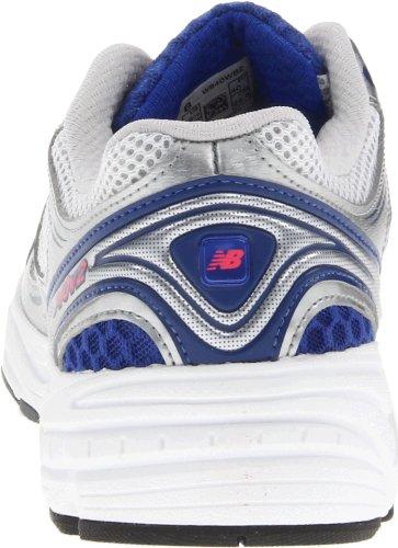 New Balance , Damen Laufschuhe, Mehrfarbig - White with Blue - Größe: 40