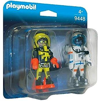 Amazon.com: Playmobil astronautas 9448 Duo Pack cifras: Toys ...