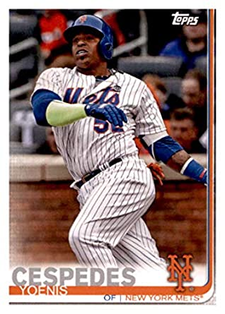 best sneakers 1f5e6 82dd7 Amazon.com: 2019 Topps Team Edition New York Mets #NM-4 ...