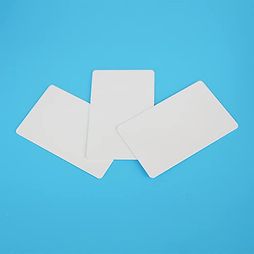 NTAG215 Compatible with Amiibo and TagMo NFC Card Blank PVC ISO Card NFC Tag by TimesKey Works with Android and All Phone NFC Enabled, 40pcs a Pack