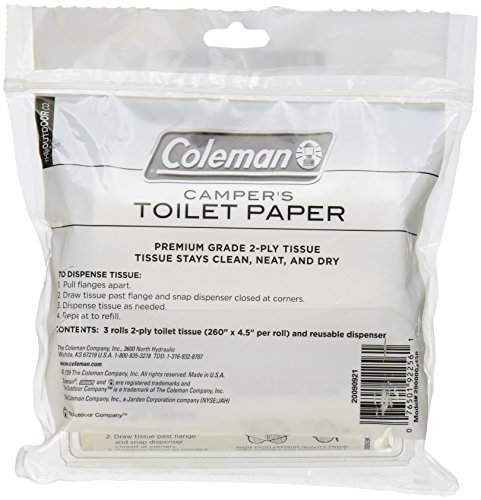 Coleman Camper S Toilet Paper Bug Out Expert