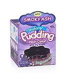 EZN Shaking Pudding Hair Dye Kit Color Smoky Ash Lavender 6.21 No Ammonia Self Hair Dye Kit Contain Keratin Korean beauty