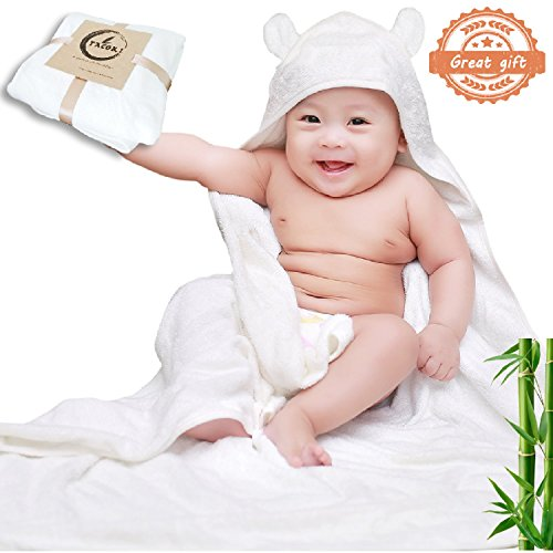 baby bath towels with hood - 5