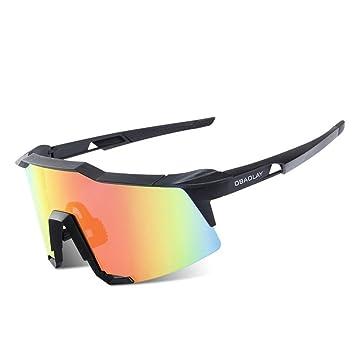 Gafas de Sol Deportivas Luz polarizada Bicicleta Protección UV 400 Anti- Niebla Corriendo Gafas Adaptación