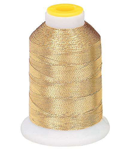 Metallic Embroidery Thread - Gold