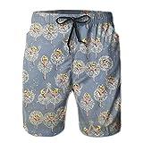 QWSJDG Ballet Men Shorts Elastic Comfortable Hot Sale Quick-drying Beach Shorts Swim Trunks