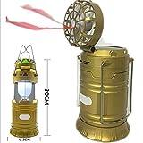 Istore Camping Lamp Solar Light LED Bulb Mini Fan