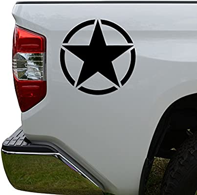 US Army Color Printed Decal Sticker Car Window Wall