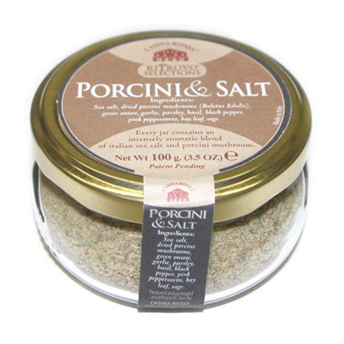 Casina Rossa Porcini and Salt by Nicola de Laurentiis - 3.5 oz. by Casina Rossa