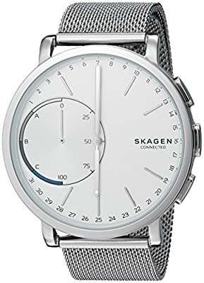 Skagen Men's 42mm Hagen Connected Stainless Steel Hybrid Smartwatch from Skagen