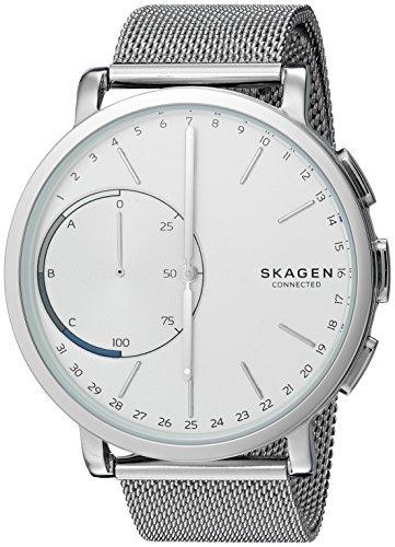 Skagen Men's 42mm Hagen Connected Stainless Steel Hybrid Smartwatch