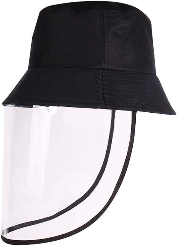 MZY1188 Sombrero a Prueba de Polvo, protección Ocular Splash Spit Windshield Fisherman Hat Protege los Ojos y la Cara