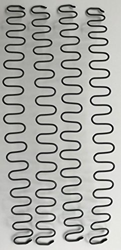Zig Zag Furniture and Auto Upholstery Springs – 9 Gauge – 24″ Length Pieces Quantity 4 For Sale