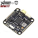 Airbot F7 AIO Flight Controller Fully Integrated BetaFlight OSD Support 3-6S Direct LiPo Input for Quadcopter Drone Frame leaco