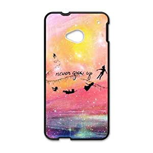 HTC One M7 Phone Case peter pan never grow up FH40758