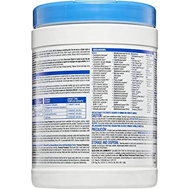 Amazon.com: Clorox Healthcare Bleach Germicidal Wipes, 150 Count Canister (30577): Industrial & Scientific