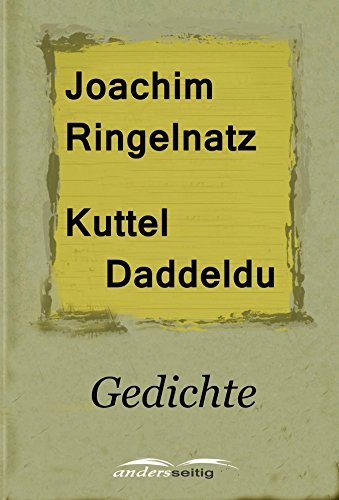 Kuttel Daddeldu Gedichte German Edition Kindle Edition