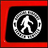 Official Bigfoot Search Vehicle - Sticker Vinyl Decal Sasquatch car truck laptop notebook