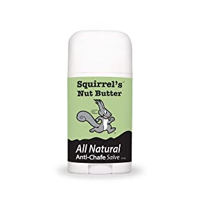 Squirrel's Nut Butter All Natural Anti-Chafe Salve, 2.7 oz