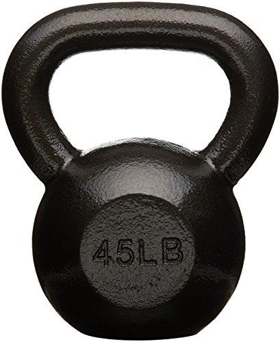 AmazonBasics Cast Iron Kettlebell, 45 lb by AmazonBasics (Image #3)