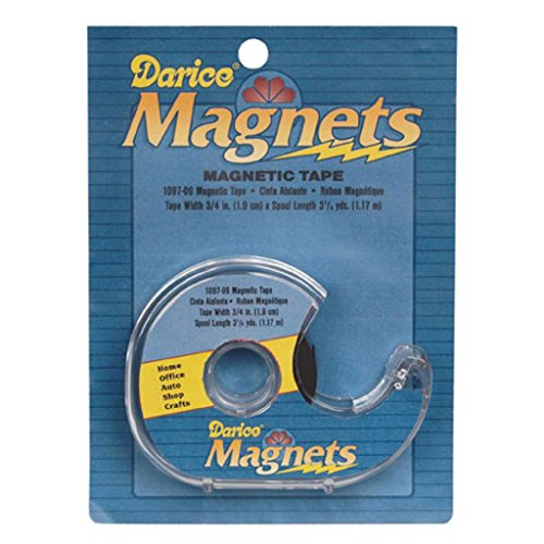 Darice - Magnetic Tape 3/4''X3.28 Yards by Darice