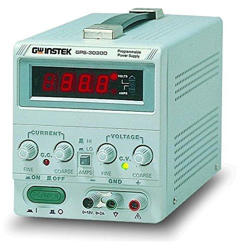 Instek GPS-3030DD 90W Single-Output Linear DC Power Supply with 0.39