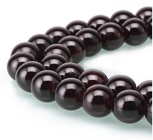 AAA Natural Garnet Gemstone 6mm Loose Round Beads Spacer Beads 15.5