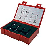 """KEO 53518 Cobalt Steel Single-End Countersink Set, Uncoated (Bright) Finish, 82 Degree Point Angle, 5/16"""" - 5/8"""" Head Diameter"""