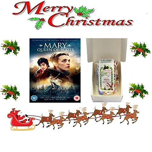 Christmas Gift Pack - Mary Queen of Scots [NON USA FORMATTED VERSION REGION 2 DVD] + Ye Old Cornish Christmas Sweets Gift Bag