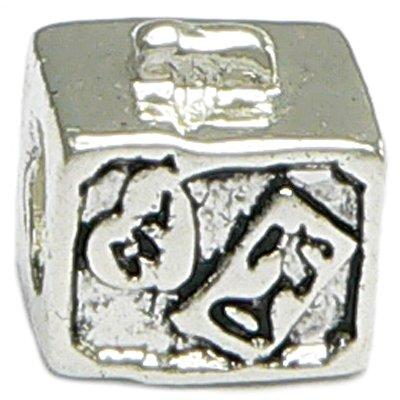 Suitcase Travel Charm Euro-Style Bracelet Compatible Bead Charm