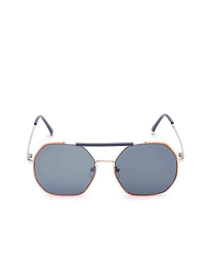 371c002dc70a Bellofox latest Belfast Sunnies sunglasses Orange color Metal Oversized  stylish for women & girls: Amazon.in: Clothing & Accessories