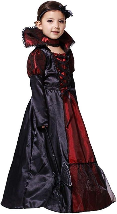 JT-Amigo Disfraz de Reina Vampiresa para Niñas, 6-7 años: Amazon ...