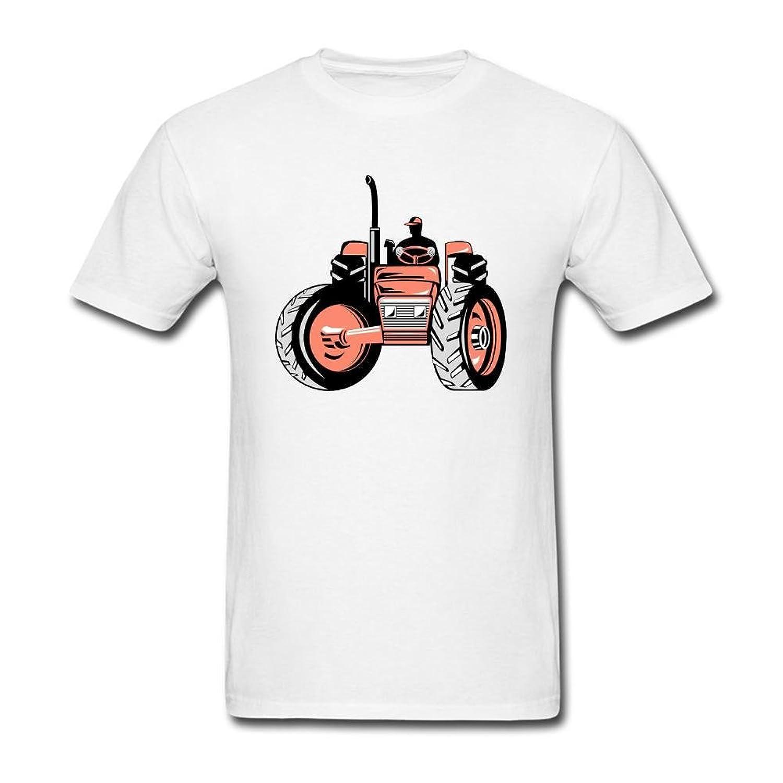 NUTTGM Vintage Farm Tractor Man 100% Cotton T Shirts